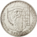 5 Deutsche Mark 1969, KM# 126, Germany, Federal Republic, 375th Anniversary of Death of Gerardus Mercator