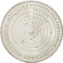 5 Deutsche Mark 1973, KM# 136, Germany, Federal Republic, 500th Anniversary of Birth of Nicolaus Copernicus