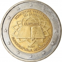 2 Euro 2007, KM# 259, Germany, Federal Republic, 50th Anniversary of the Treaty of Rome