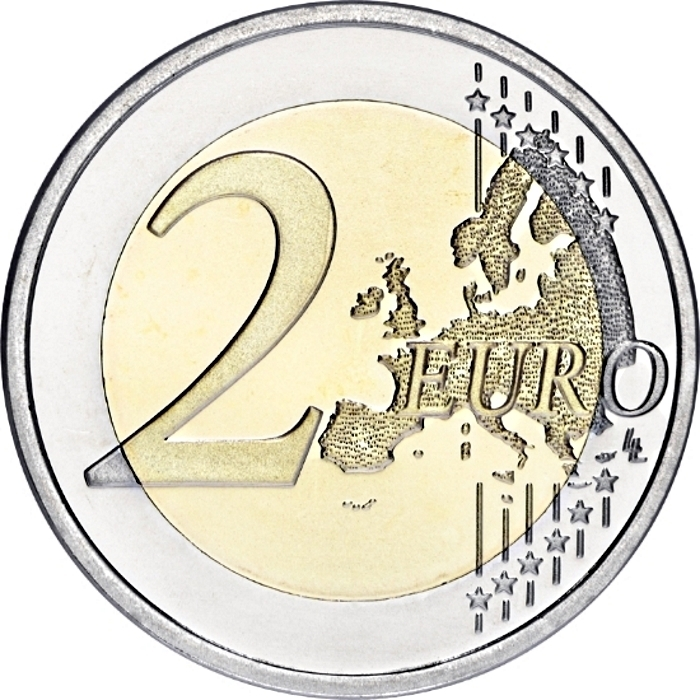 2 Euro 2012, KM# 306, Germany, Federal Republic, 10th Anniversary of Euro Coins and Banknotes