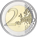2 Euro 2012, KM# 245, Greece, 10th Anniversary of Euro Coins and Banknotes