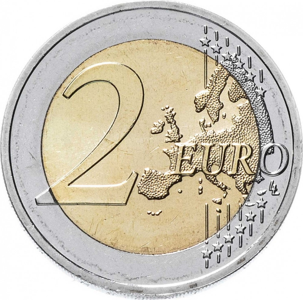 2 Euro 2019, Germany, Federal Republic, German Federal States, 70th Anniversary of the Bundesrat