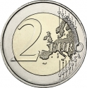 2 Euro 2015, KM# 336, Germany, Federal Republic, German Federal States, Hesse