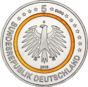 5 Euro 2018, Germany, Federal Republic, Climate Zones of the Earth, Subtropical Zone