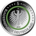 5 Euro 2019, Germany, Federal Republic, Climate Zones of the Earth, Temperate Zone