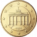 10 Euro Cent 2002-2006, KM# 210, Germany, Federal Republic