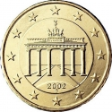 50 Euro Cent 2007-2017, KM# 256, Germany, Federal Republic