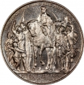 2 Mark 1913, KM# 532, Prussia, William II, 100th Anniversary of the Prussians Entering the Napoleonic War