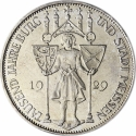 3 Reichsmark 1929, KM# 65, Germany, Weimar Republic, 1000th Anniversary of Meissen