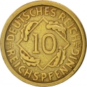 10 Reichspfennig 1924-1936, KM# 40, Germany, Weimar Republic