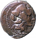 1 Dichalkon 187-131 BC, SNG-Cop# 365-6, Macedon, Kingdom