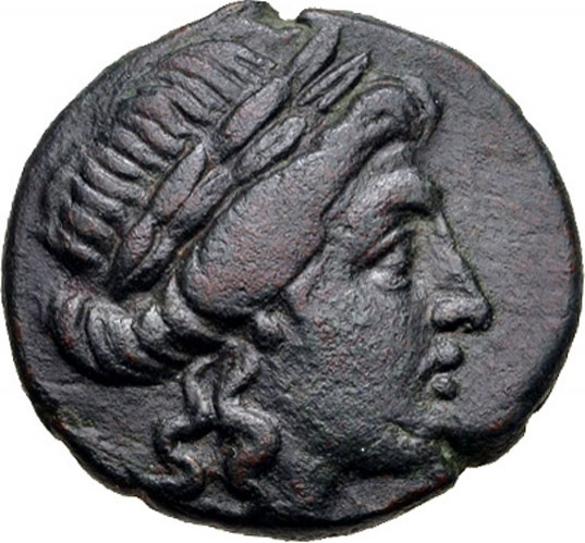 1 Trichalkon 150-101 BC, BCD# II 898.5, Thessalian League