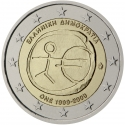 2 Euro 2009, KM# 227, Greece, 10th Anniversary of the European Monetary Union