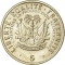 5 Centimes 1975, KM# 119, Haiti, Food and Agriculture Organization (FAO)