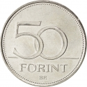 50 Forint 2007, KM# 805, Hungary, 50th Anniversary of the Treaty of Rome