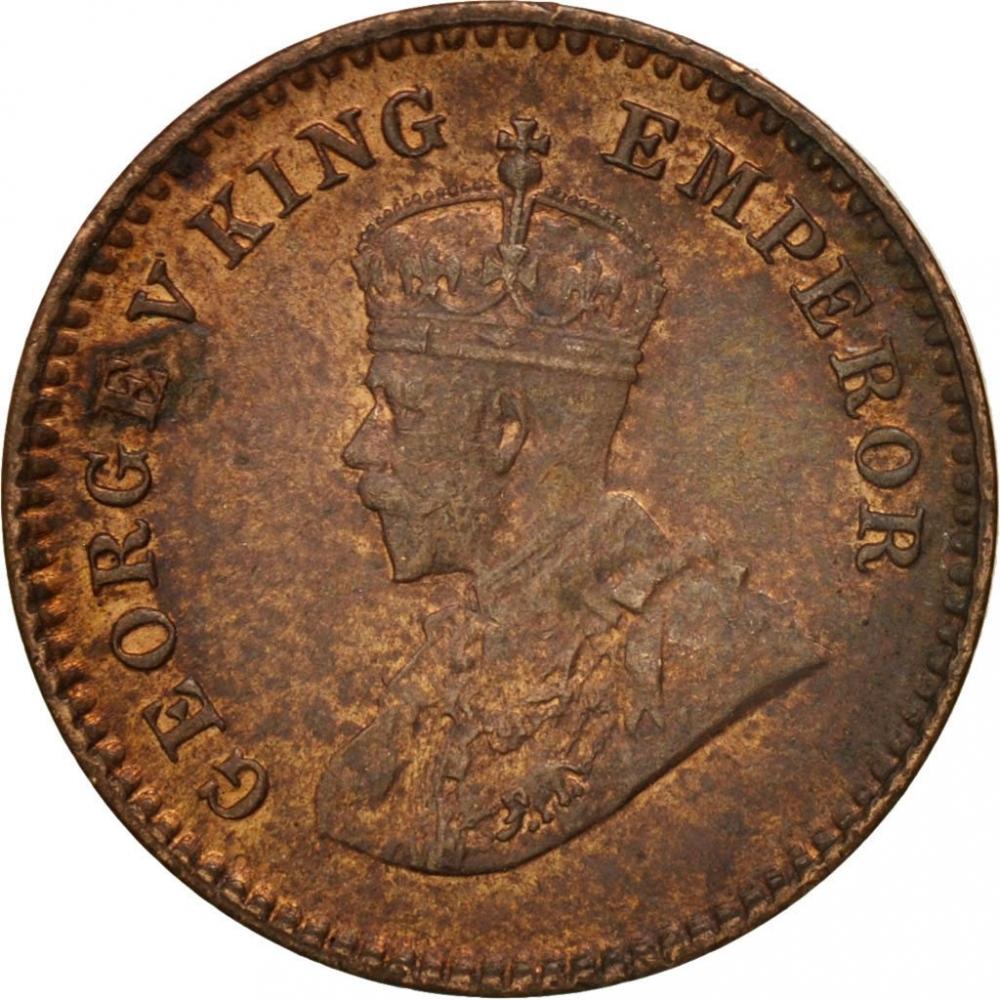 1 12 Anna Pie India British British Raj 1912 1936 Km 509 Coinbrothers Catalog