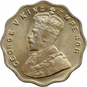 1 Anna 1912-1936, KM# 513, India, British (British Raj), George V