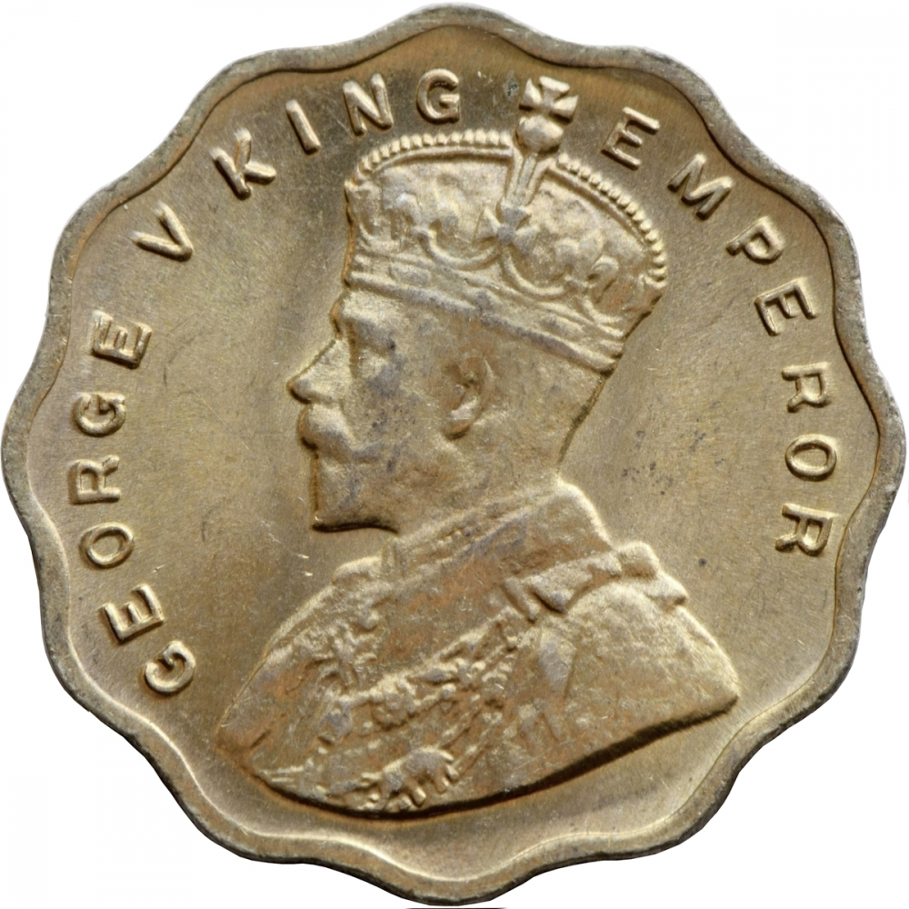1 Anna India British British Raj 1912 1936 Km 513 Coinbrothers Catalog