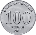 100 Rupiah 2016, KM# 71, Indonesia, National Hero, Herman Johannes