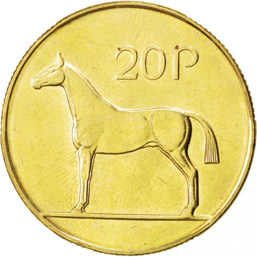 1985 irish 20p coin value