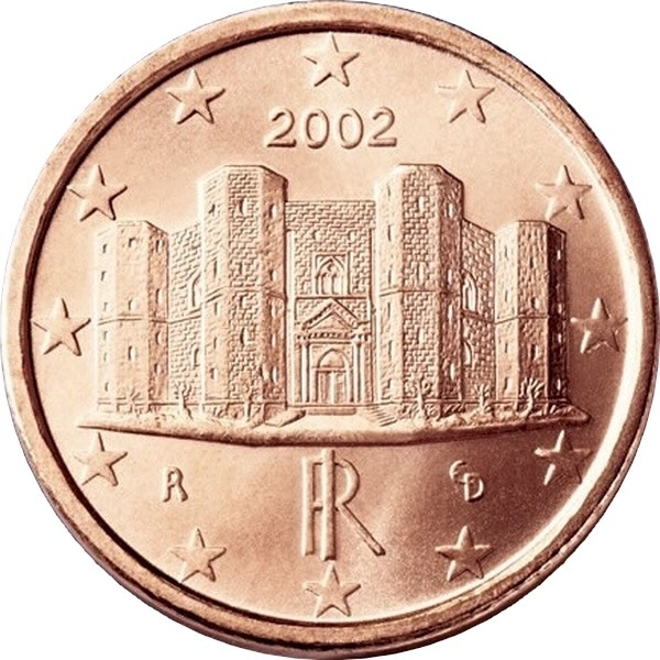 1 euro cent italy 2002 2018 km 210 coinbrothers catalog. Black Bedroom Furniture Sets. Home Design Ideas
