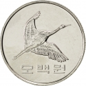 500 Won 1982-2018, KM# 27, Korea, South