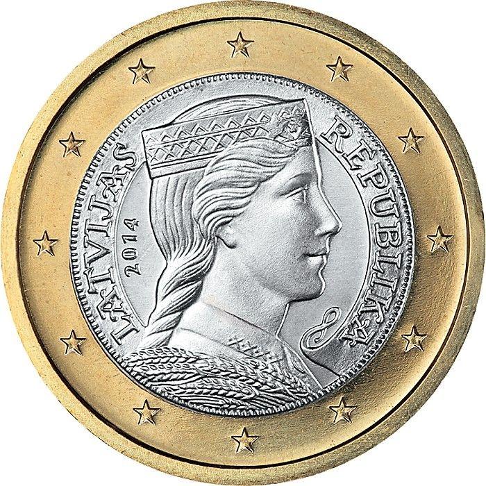 Wertvolle 1€ Münzen