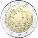 2 Euro 2015, KM# 172, Latvia, 30th Anniversary of the Flag of Europe