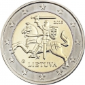 2 Euro 2015-2018, KM# 212, Lithuania