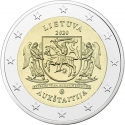 2 Euro 2020, Lithuania, Lithuanian Ethnographic Regions, Aukštaitija