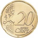 20 Euro Cent 2015-2018, KM# 209, Lithuania