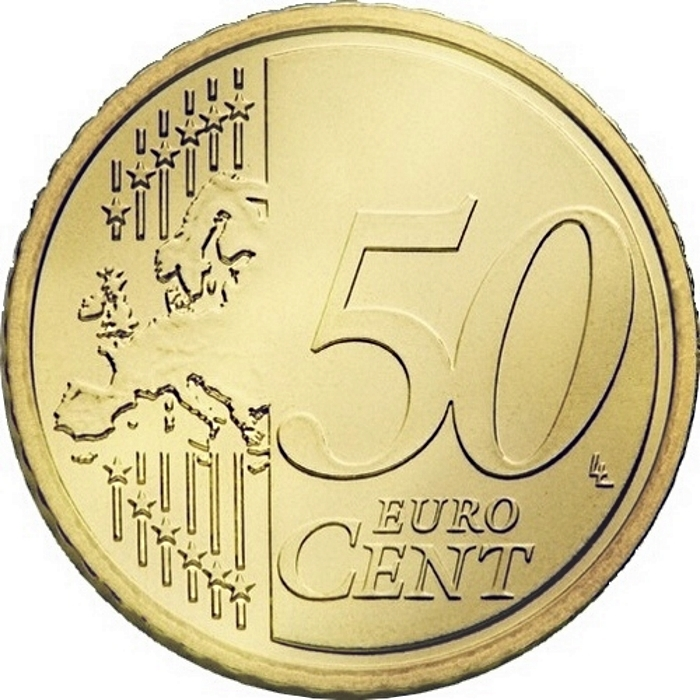 50 Euro Cent 2015-2018, KM# 210, Lithuania