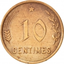10 Centimes 1930, KM# 41, Luxembourg, Charlotte