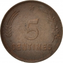 5 Centimes 1930, KM# 40, Luxembourg, Charlotte