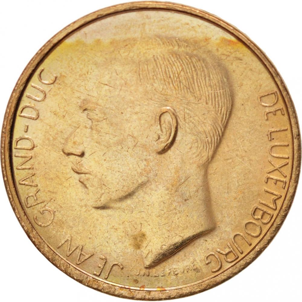 jean grand duc de luxembourg coin