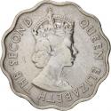 10 Cents 1954-1978, KM# 33, Mauritius, Elizabeth II