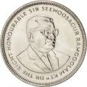 20 Cents 1987-2012, KM# 53, Mauritius