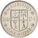 1 Rupee 1987-2010, KM# 55, Mauritius