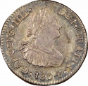 1/2 Real 1792-1808, KM# 72, Mexico, New Spain, Charles IV