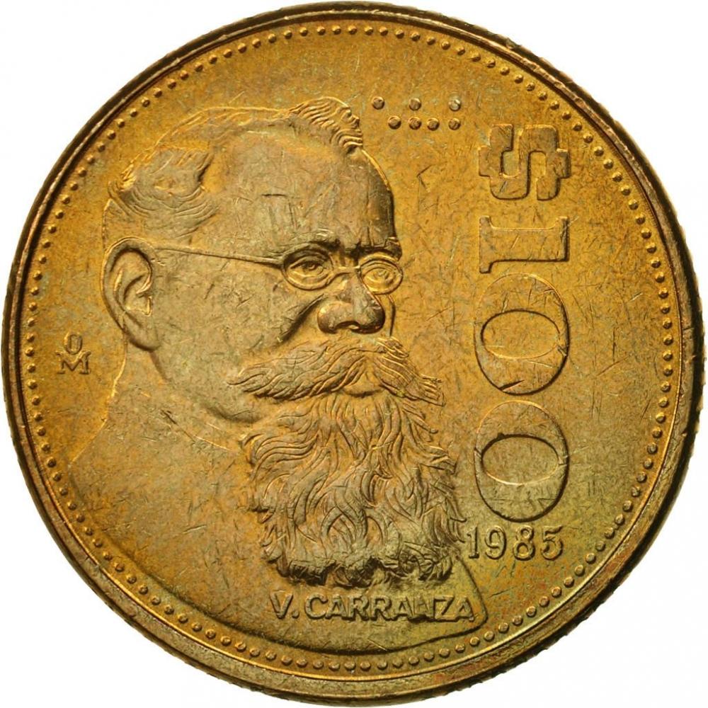 100 Pesos Mexico 1984 1992 Km 493 Coinbrothers Catalog