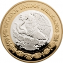 100 Pesos 2012, KM# 967, Mexico, Numismatic Heritage of Mexico, Republican Hand on Book 8 Escudos