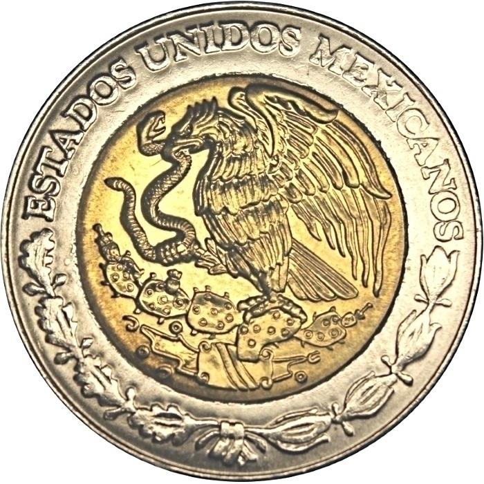 2010 Bimetallic Centenary of Revolution Pancho Villa Horse Mexico 5 Pesos Coin
