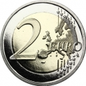 2 Euro 2018, Gadoury# MC211, Monaco, Albert II, 250th Anniversary of Birth of François-Joseph Bosio