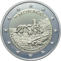 2 Euro 2015, Monaco, Albert II, 800th Anniversary of the Construction of the First Fortress on the Rock