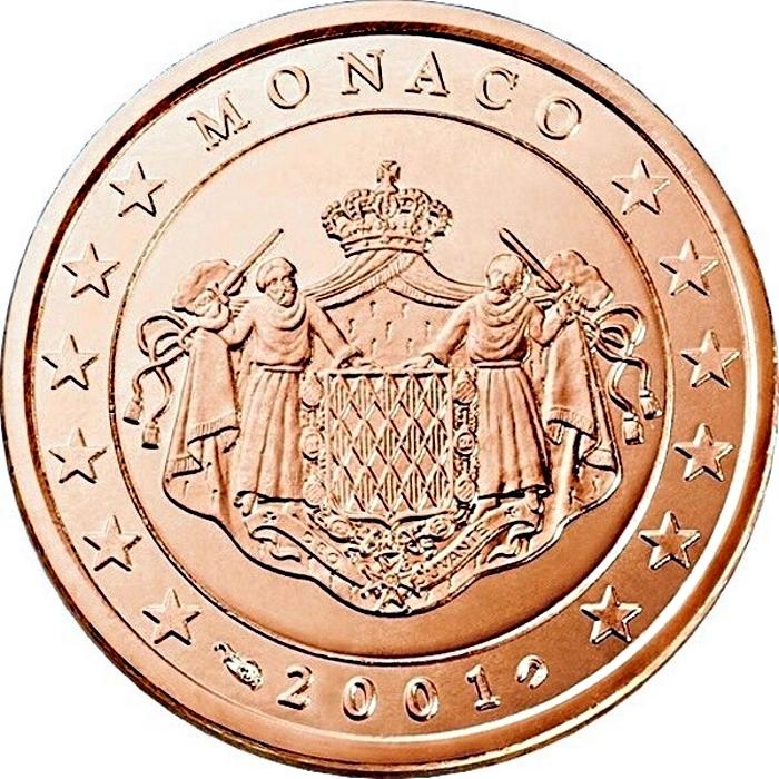 1 Euro Monaco 2001
