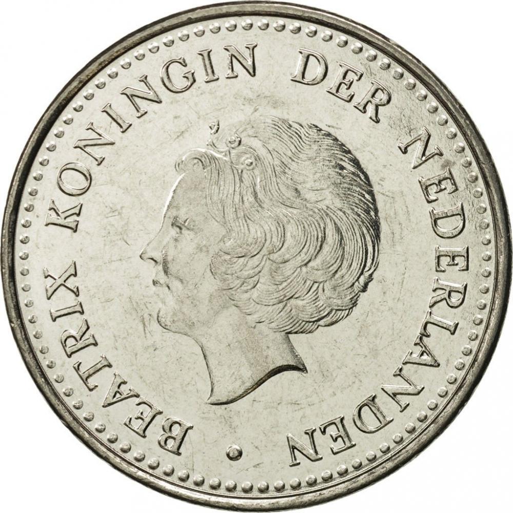 1 Gulden Netherlands Antilles 1980 1985 Km 24 Coinbrothers Catalog