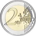 2 Euro 2014-2016, KM# 351, Netherlands, Willem-Alexander