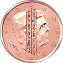 2 Euro Cent 2014-2016, KM# 345, Netherlands, Willem-Alexander