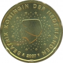 20 Euro Cent 2007-2013, KM# 269, Netherlands, Beatrix
