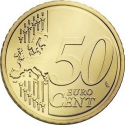 50 Euro Cent 2007-2013, KM# 270, Netherlands, Beatrix